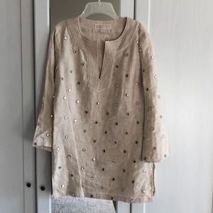 Michael Kors linen tunic